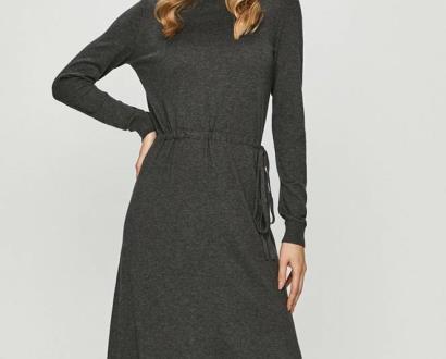 Šedé šaty vero moda