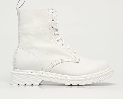 Bílé boty dr. martens