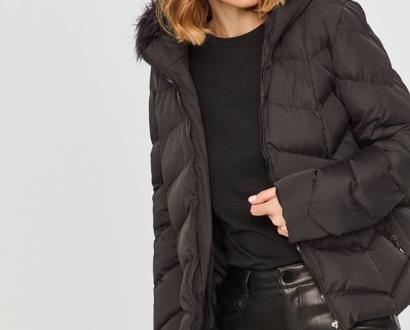 Černá bunda Answear Lab