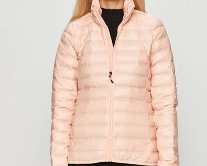 Růžová bunda adidas performance