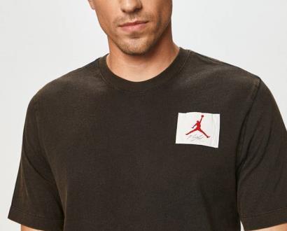 Černé tričko Jordan