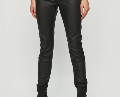 Černé kalhoty Dr. Denim