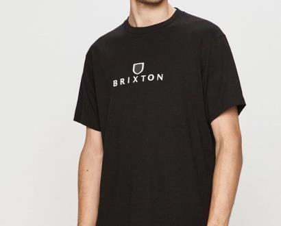 Černé tričko Brixton