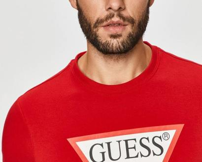 Červená mikina Guess