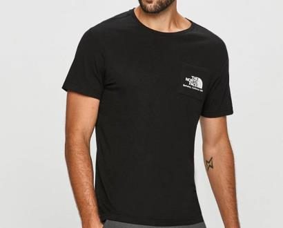 Černé tričko The North Face