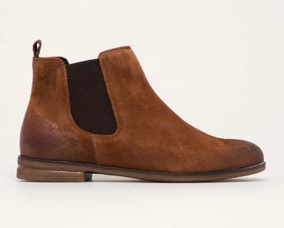 Hnědé boty Wojas