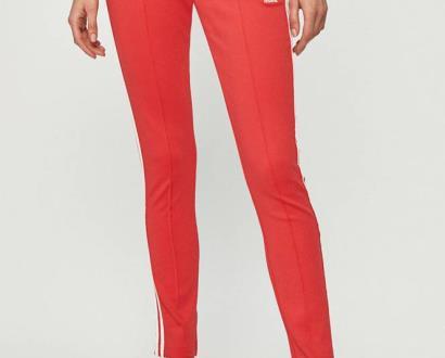 Růžové kalhoty adidas originals