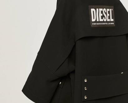 Černá bunda Diesel