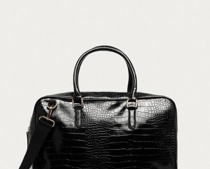 Černý kufr Answear Lab