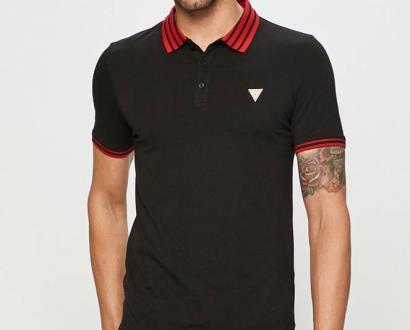 Černé tričko Guess