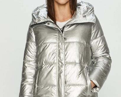 Stříbrná bunda Haily's