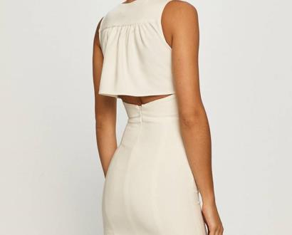 Bílé šaty Morgan
