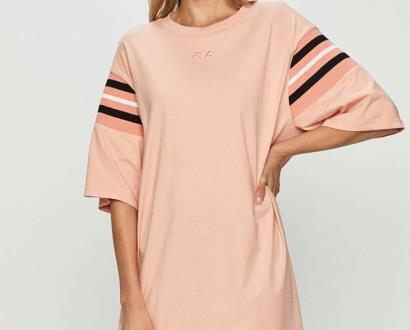 Růžové šaty fila