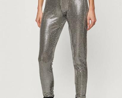 Stříbrné kalhoty only