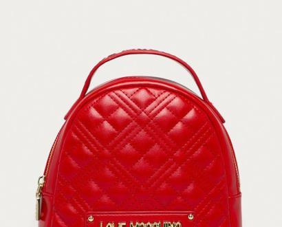 Červený batoh Love Moschino