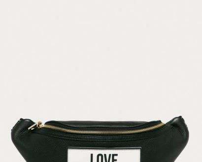 Černá ledvinka Love Moschino