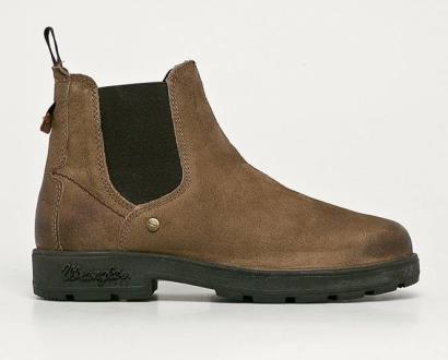 Béžové boty wrangler