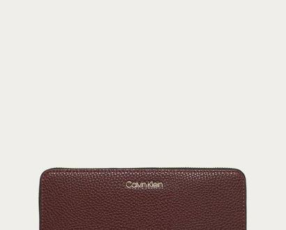 Burgundská peněženka Calvin Klein