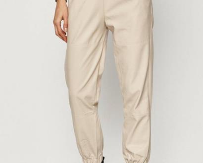 Béžové kalhoty Answear Lab