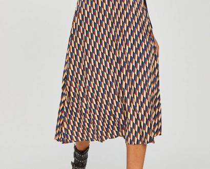 Vícebarevná sukně Answear Lab