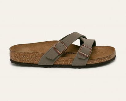Šedé boty Birkenstock