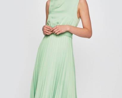 Zelené šaty ANSWEAR