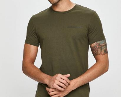 Zelené tričko calvin klein jeans