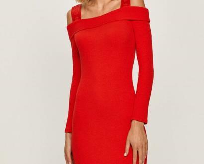 Červené šaty Guess