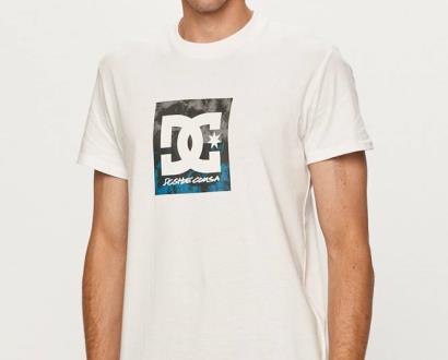 Bílé tričko DC