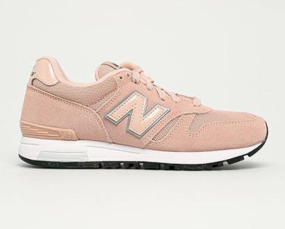 Růžové boty new balance