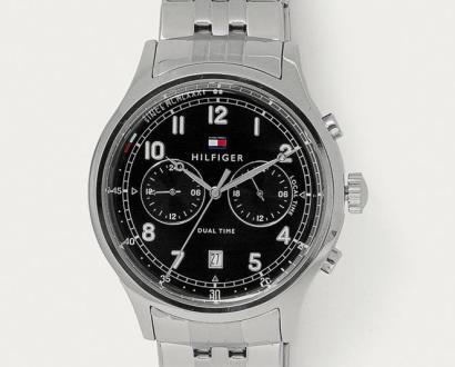 Stříbrné hodinky tommy hilfiger