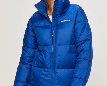 Modrá bunda columbia