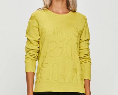 Žlutý svetr desigual