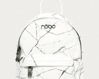 Bílý batoh NOBO