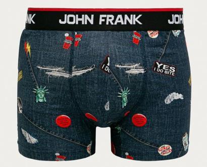 Modré spodní prádlo John Frank