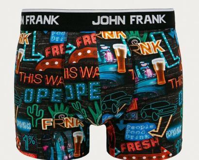 Vícebarevné spodní prádlo John Frank
