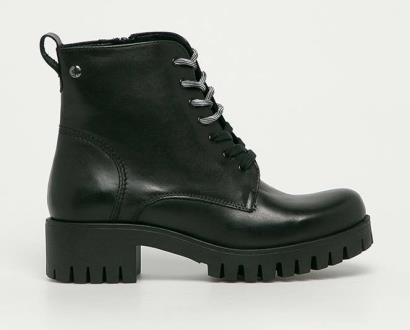 Černé boty s.oliver