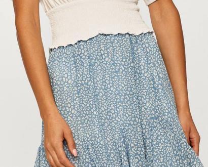 Modrá sukně ANSWEAR