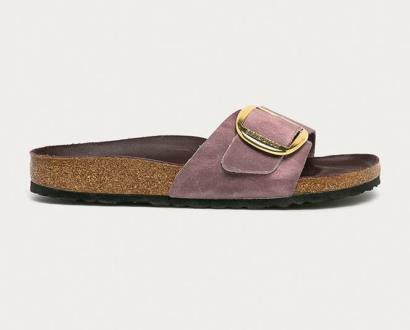 Fialové boty Birkenstock