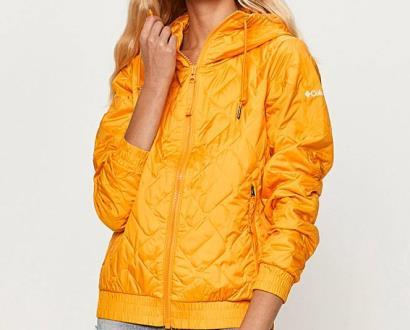 Žlutá bunda columbia