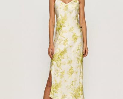 Žluté šaty AllSaints
