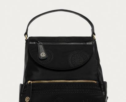 Černý batoh desigual