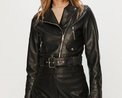 Černá bunda Glamorous