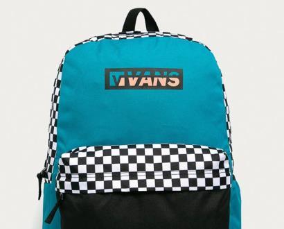 Tyrkysový batoh vans