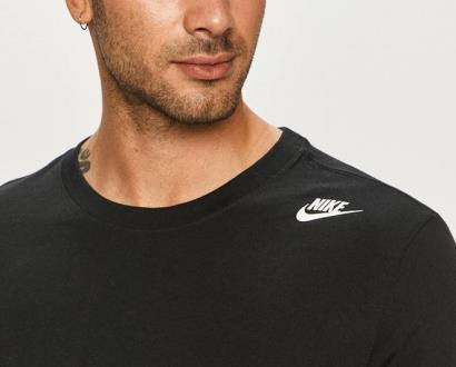 Černé tričko Nike Sportswear