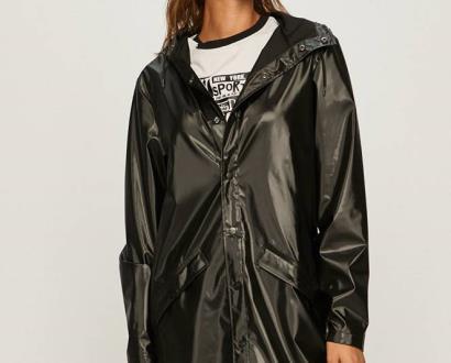 Černá bunda Rains