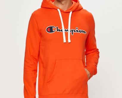 Oranžová mikina champion