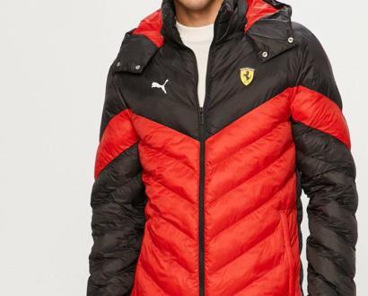 Červená bunda puma