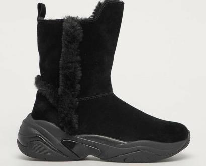 Černé boty tamaris