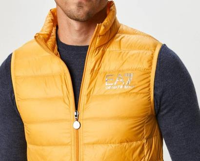 Žlutá vesta EA7 Emporio Armani